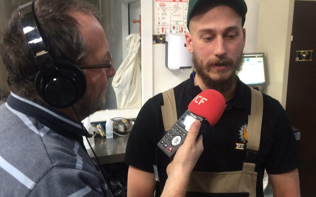 La Brasserie Saint-Clair sur RCF Pays de l'Ain