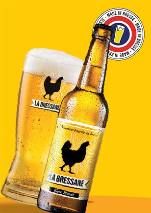 Bière artisanale La Bressane Blonde
