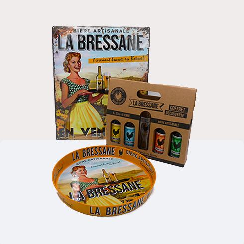 BIERE LA BRESSANE PACK 33CL